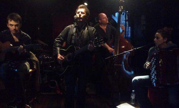 Visuel du projet Enregistrement 2ème album Christian Garcia Reidt