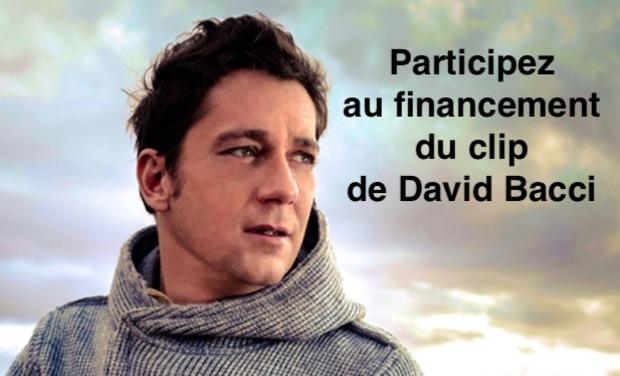 Visuel du projet Participez au financement du prochain clip de David Bacci