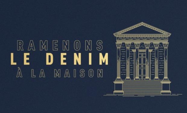 Visuel du projet Retissons le Denim dans sa ville d'origine: Nîmes.
