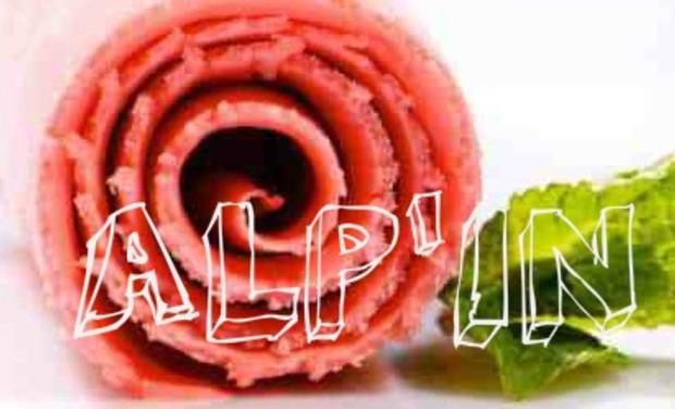 Visuel du projet ALP'IN, les glaces à la plancha  & les yaourts glacés aux saveurs des Alpes!