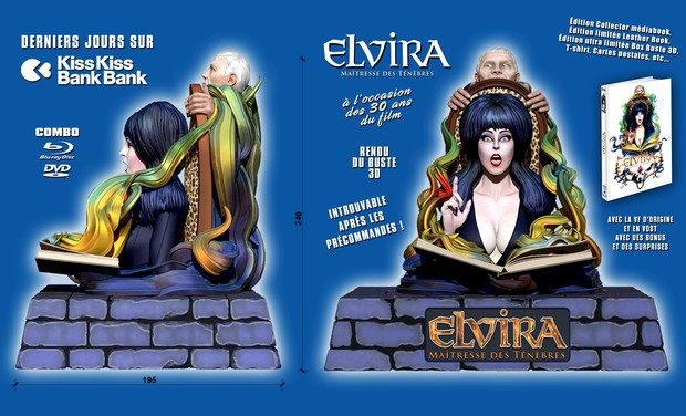 Project visual ELVIRA, MAÎTRESSE DES TENEBRES, le film culte en DVD/BluRay collector