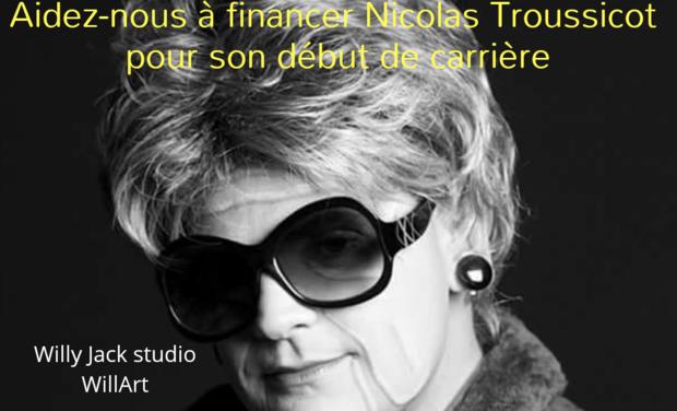 Visueel van project Aidez-nous à financer Nicolas Troussicot pour son début de carrière