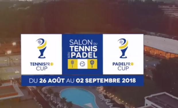 Project visual Le Salon du Tennis et du Padel / Tennispro Cup / Padelpro Cup