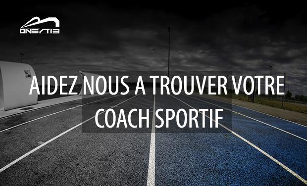 Visuel du projet Aidez nous à trouver votre coach sportif