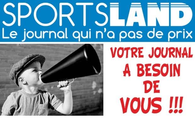 Visueel van project Sportsland : écrivons la suite ensemble !