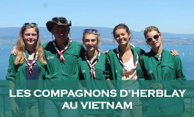Visueel van project Tous solidaires pour le Vietnam !