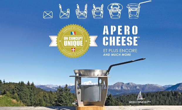 """Project visual Apéro Cheese - Le réchaud nomade pour faire le """"chaud"""" à l'apéro"""