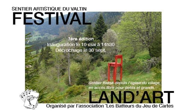 Visuel du projet Festival Land-Art du Valtin