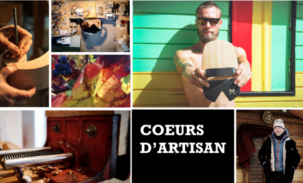 Project visual Série documentaire - Coeurs d'Artisan