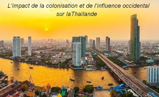 Visueel van project L'impact de la colonisation et de l'influence occidental sur la Thaïlande