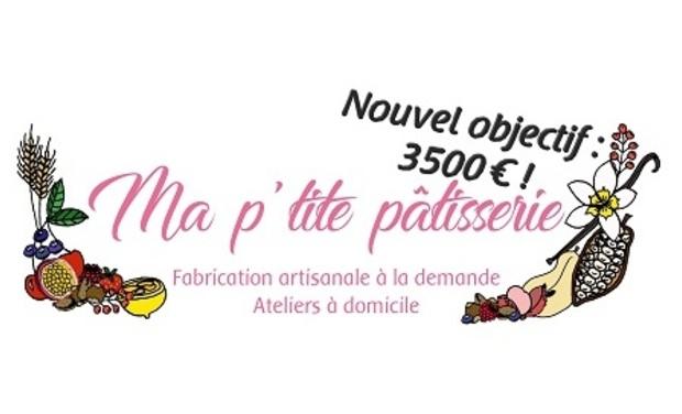 Visuel du projet Ma P'tite Pâtisserie : fabrication artisanale et ateliers à domicile