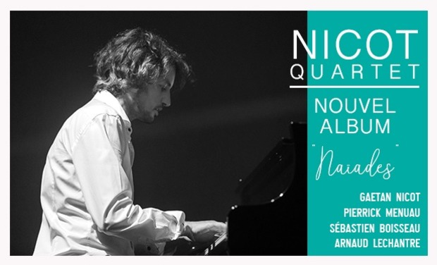 Project visual Gaetan Nicot Quartet