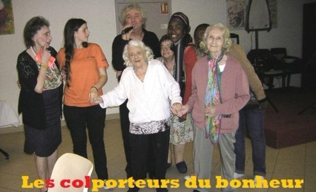 Project visual Les colporteurs du bonheur