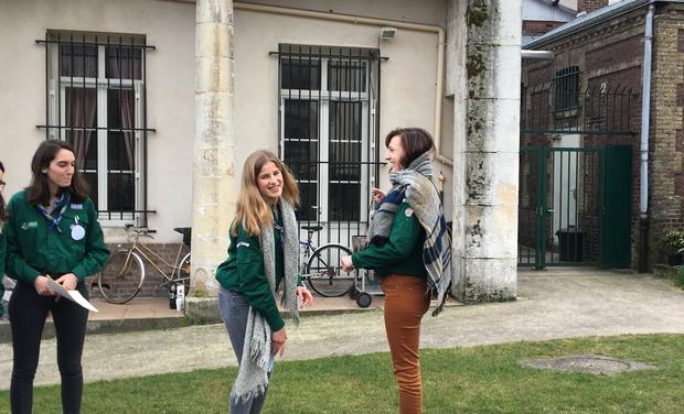 Project visual Projet solidaire des compas de Rouen à Saint-Martin