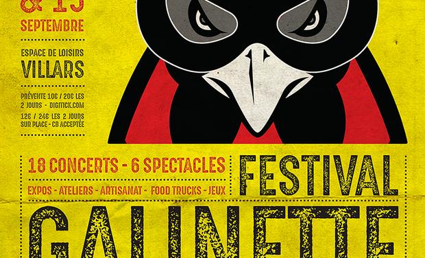 Visueel van project Galinette festival 2ème édition