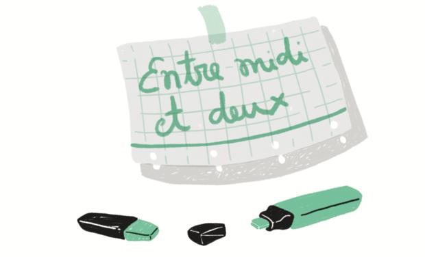 """Visuel du projet Bande Dessinée """"Entre midi et deux"""""""