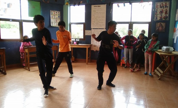 Visuel du projet Dance classes for disadvantaged children