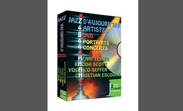Visuel du projet coffret DVD jazz d'aujourd'hui