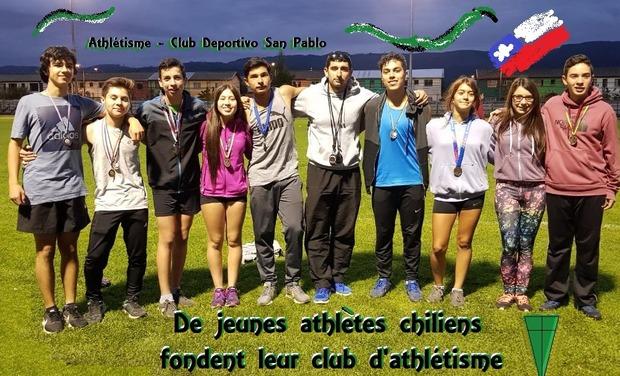 Visuel du projet Des Jeunes Athlètes Chiliens fondent un Club d'athlétisme !