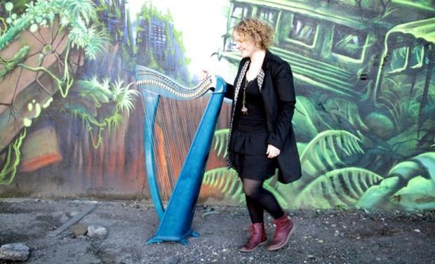 Visuel du projet Virginie Harpe celtique 1 er Album