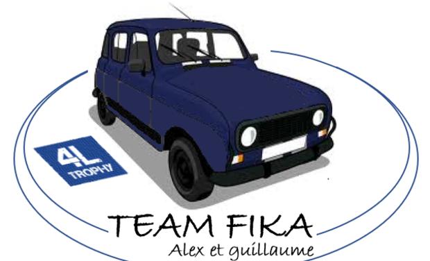Visuel du projet 4L Trophy 2019 Mission humanitaire Team Fika