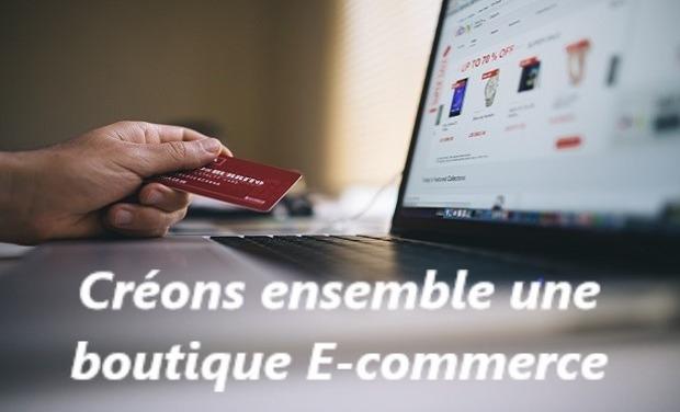Visuel du projet Créons ensemble une boutique E-commerce !!