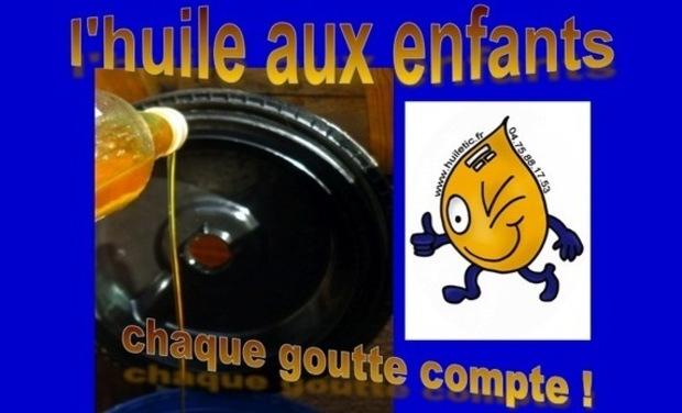 Visueel van project L'huile aux enfants !