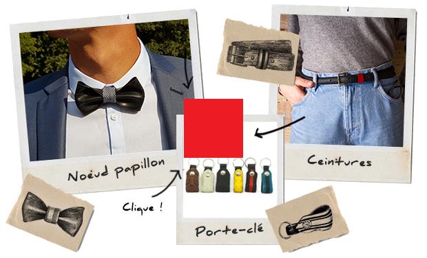 Visuel du projet La vie est Belt : Accessoires de mode solidaires et écologiques faits en France