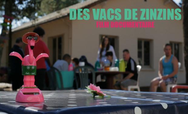 """Visuel du projet """"Des Vacs de Zinzins"""", un film sur la rencontre avec le monde du handicap."""