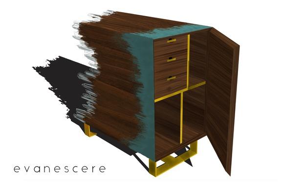 Visuel du projet Evanescere / Mobilier