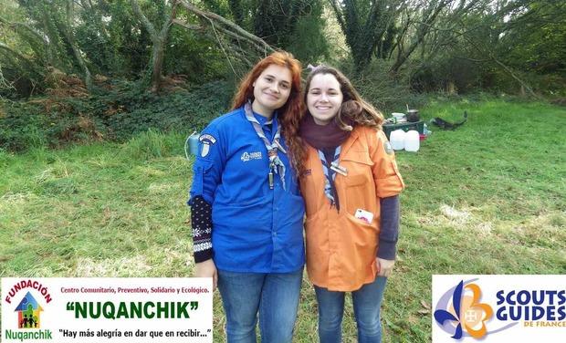 Project visual Fiona et Aurore en terre Andine - Projet de solidarité scout - Groupe Iroise