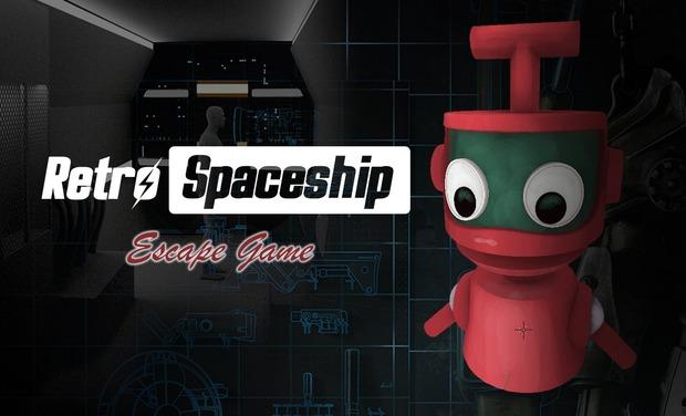 Project visual Escape Game - Retro Spaceship