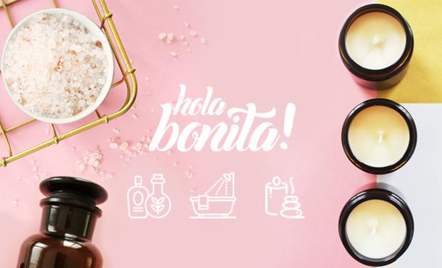 Project visual Hola Bonita! Marque positive de cosmétiques vegan