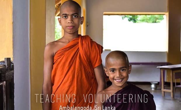 Visuel du projet Volontariat au Sri Lanka