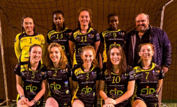 Visueel van project Mené Handball Club au tournoi international au Danemark