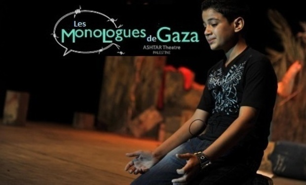Visueel van project Les Monologues de Gaza