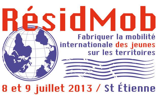 """Visuel du projet """"Resid Mob"""", fabriquer la mobilité internationale des jeunes"""