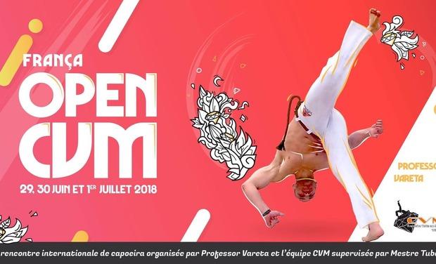 Visueel van project OPEN CVM FRANCE  CAPOEIRA  2018