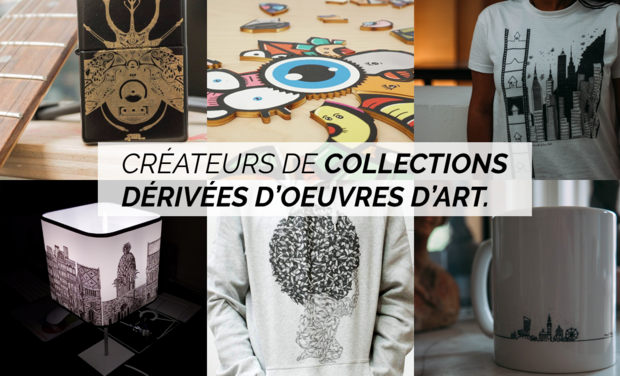 Visuel du projet Artgile : créateurs de collections artistiques...