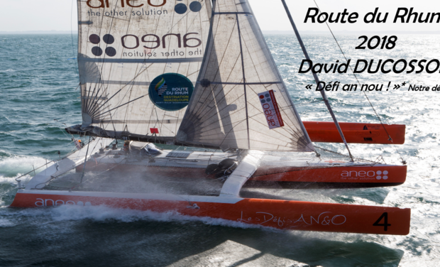 Project visual Soutenez Defi An Nou Route du Rhum 2018!