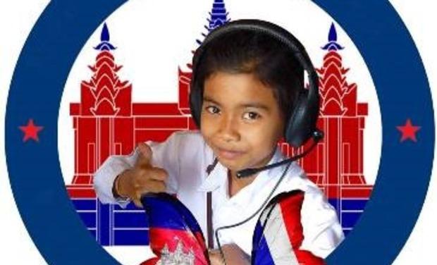 Project visual Faire venir en France les 2 meilleurs élèves de la classe de français (Cambodge)