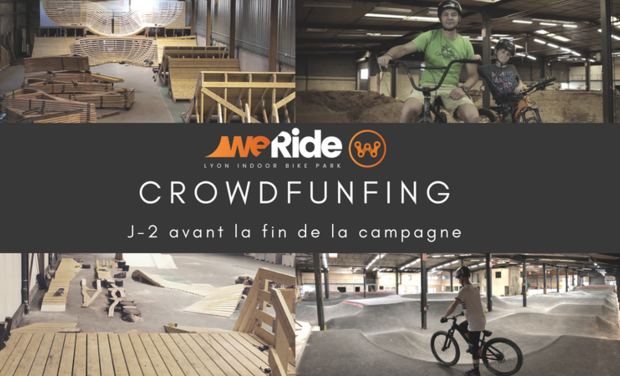 Project visual WeRide : votre Bike Park Indoor à Lyon