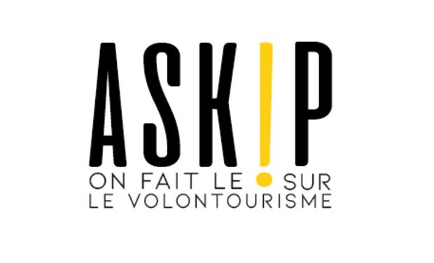 Visueel van project ASKiP Les dérives du volontourisme