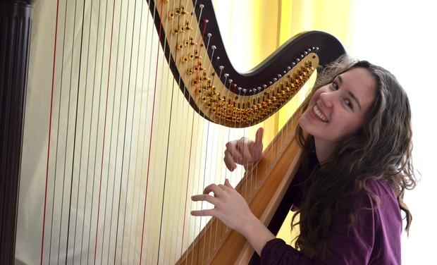 Visuel du projet Une harpe pour Rosetta - Eine Harfe für Rosetta