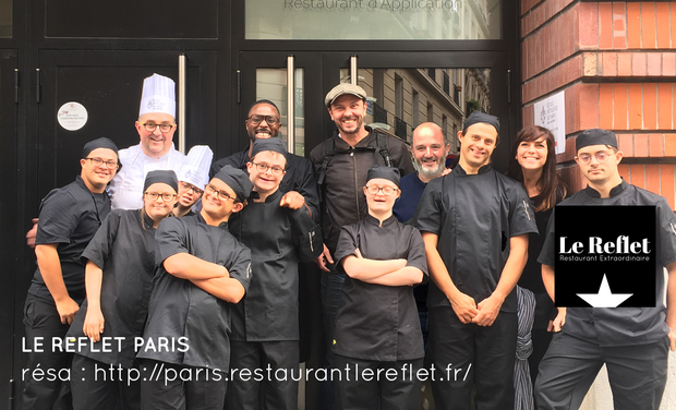 Project visual Le Reflet Paris // Restaurant Extraordinaire