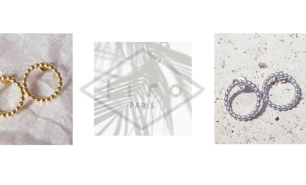 Visuel du projet FIRO, des bijoux en argent, vermeil et or.