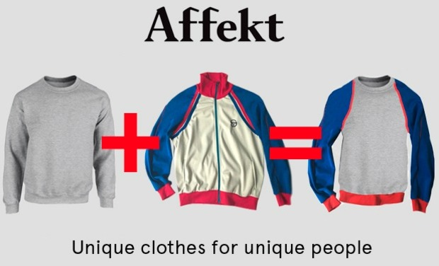 Visuel du projet Affekt, streetwear: unique and original pieces, handmade in Paris.