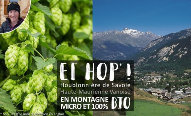 Visuel du projet Création d'une houblonnière BIO en Haute Maurienne