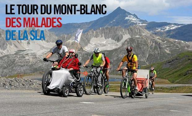 Visuel du projet Le Tour du Mont-Blanc des malades de la SLA