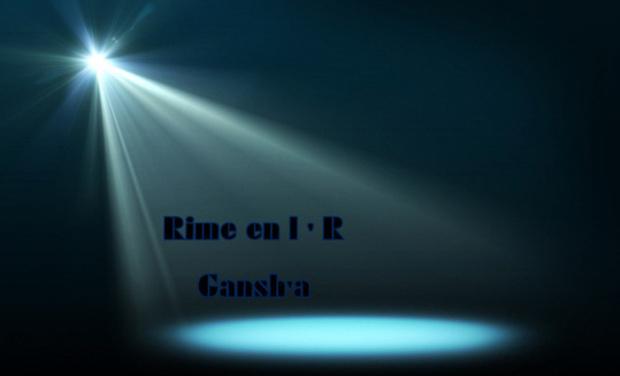 "Visueel van project  "" Rime en l ' R """